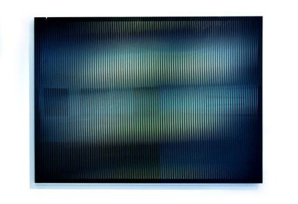 Rising IV.  | silk printed, laminated, polished glass  |  90 x 120 cm  |  2013