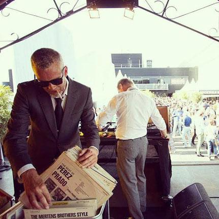 Vinyl DJ huren - Jazz DJ Meneer Funkel