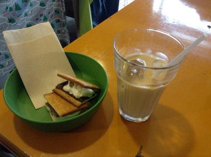 「ムムムカフェ」暑さでバテ気味な時はアイスコーヒー