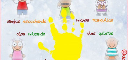 NORMAS EN CLASE EDUCACION INFANTIL primerdi.com