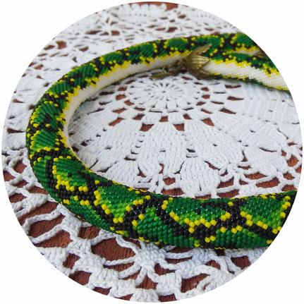 Necklace, Jewelry, Bead Crochet Necklace, Beadwork Necklace, Handmade, ukrainian jewelry, Beaded Necklaces, ожерелье, жгут из бисера, вязаное ожерелье