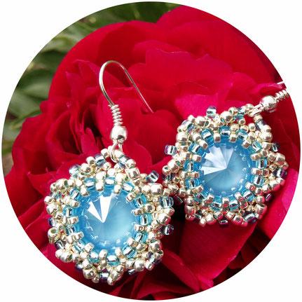 Earrings, Сережки, Dangle Drop Earrings, Handmade, Extra Long Earrings, Dangle earrings, Beadwork, ukrainian jewelry, native american, сережки с бахромой, сережки из бисера