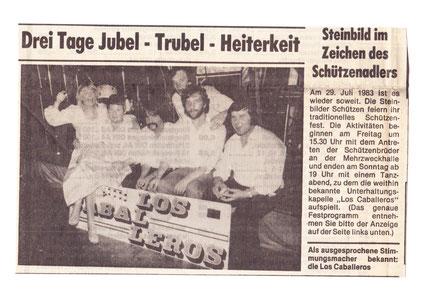 NOZ 83: Los Caballeros in Steinbild