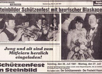 Ems-Zeitung 1981