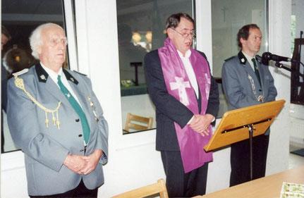 E. Cordes, Pfr. B. Bolmer, H. v. Dincklage