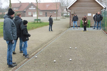 Boule-Platz-Eröffnung