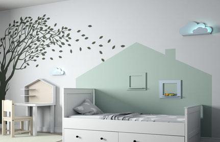 Wandtattoo für Kinderzimmer