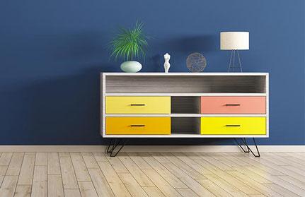 Klebefolien für Möbel