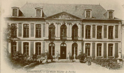 Fig 1 - Hôtel de Chepy - Fonds Macqueron - Abbeville, Archives municipales.
