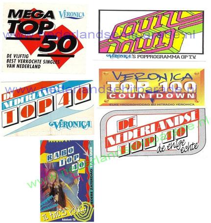 Hitlijsten logo's