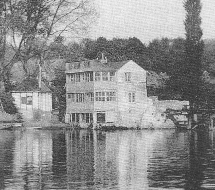 Le restaurant vers 1925 (Collection particulière)