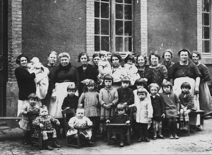 La Crèche en 1927 (Collection M. Esnoult)
