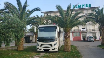 Camping Calypso, Cupra Marittima Italien