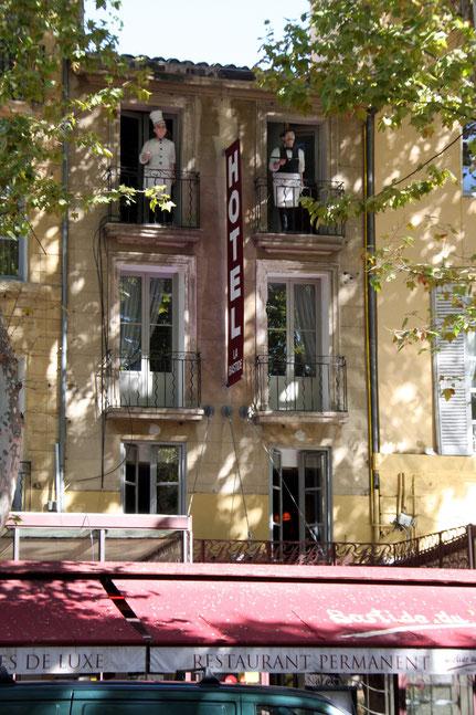 Bild: Cours Mirabeau in Aix-en-Provence