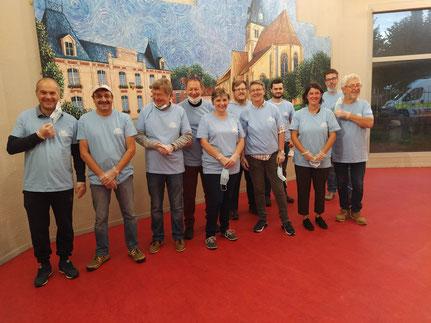 L'équipe de bénévoles