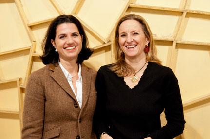 Caroline Salzer und Mag. Nicole Ehrlich-Adám