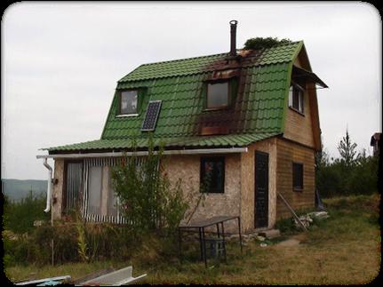 迪馬親手蓋的房子