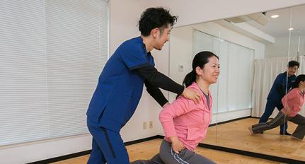 古武術を使った体幹パーソナルトレーニング