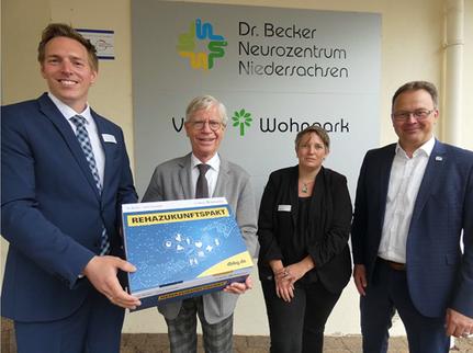 Unternehmensbesuch beim Neurozentrum Niedersachsen NZN (Bad Essen)