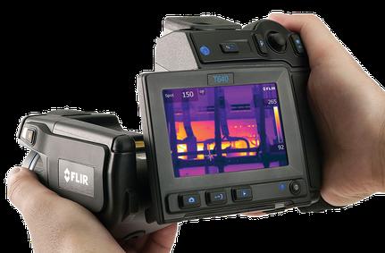 Wärmebildkamera für Condition Monitoring in der Instandhaltung Flir T640