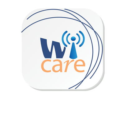 Logo des drahtlosen Messsystems zur Schwingungsdiagnose Wi-care der Firma I-Care