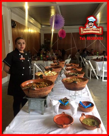 Taquizas a Domicilio y comidas para fiestas en el Distrito Federal y Estado de México
