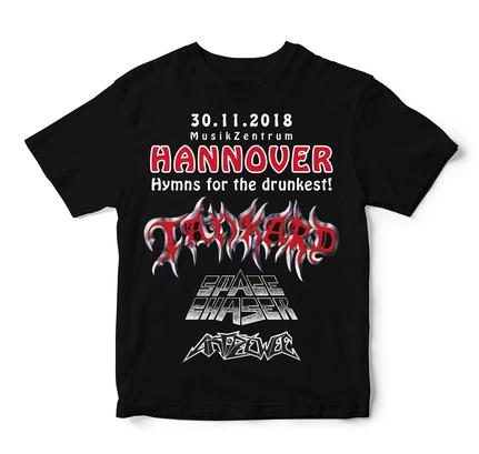 Event-Shirt Tankard Hannover 2018 Rückseite