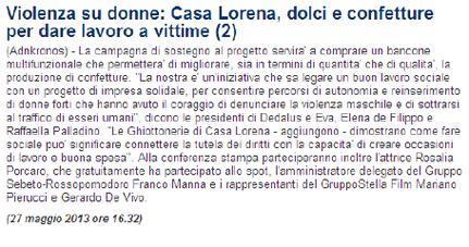 Da la RepubblicaNapoli.it del 27/05/13