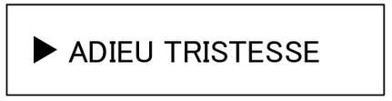 強化買取ブランド ADIEU TRISTESSE アデュートリステス