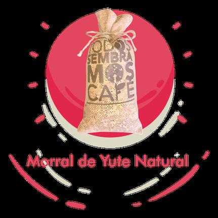 Morral de Yute Natural