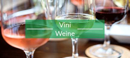 Weine - Vini