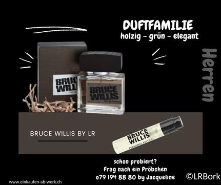 Duftprobe von Bruce Willis Parfüm