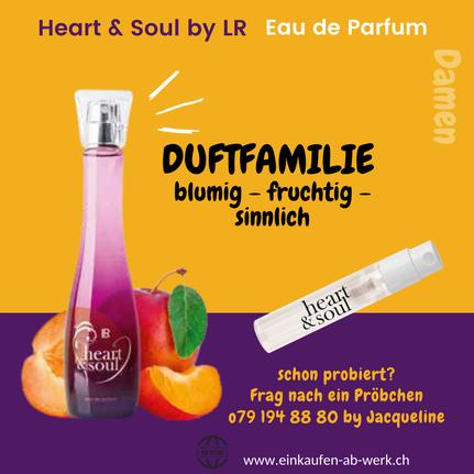 Heart & Soul Duftprobe