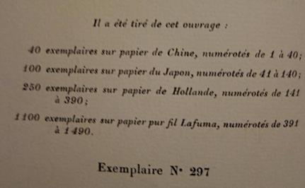 Francis Carco, Le Roman de François Villon, livre rare, édition originale