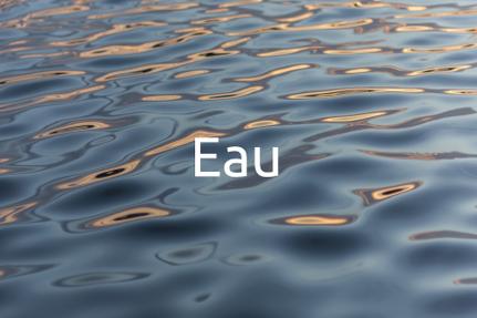 Formation Eau