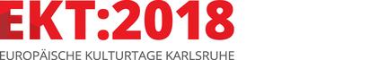 Logo Europäische Kulturtage Karlsruhe 2018 EKT:2018