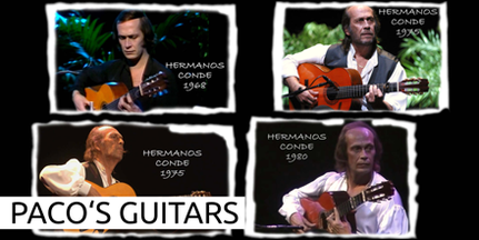 PACO DE LUCIA GUTAR GITARRE HERMANOS CONDE 1980