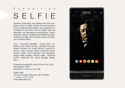 Selfies l'atelier Oblik Clichy Prouvost Elizabeth Photographe