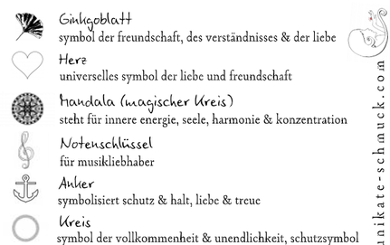 Symbole Unikate Schmuck Schmuckdesign