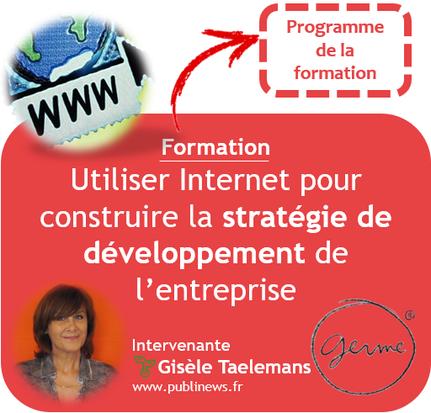Utiliser Internet pour construire la stratégie de développement de l'entreprise