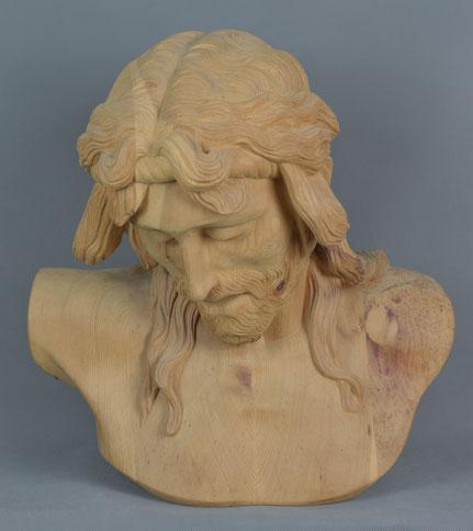 Christus leidend, Zirbelkierfer, 50cm