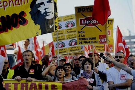 Fralib-arbejderne har bz'at deres virksomhed siden 2011