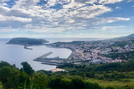 Das malerische Horta - Ausgangspunkt für unsere Ausflüge auf Faial