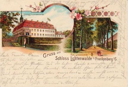 Alte Ansichtskarte um 1900