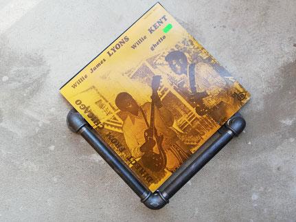 Vintage LP Wandhalterung Vinylhalter Wanddisplay für LP Vinyl Schallplatten