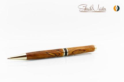 Hier sind hochwertige  und exklusive Kugelschreiber und handgemachte Schreibgeräte