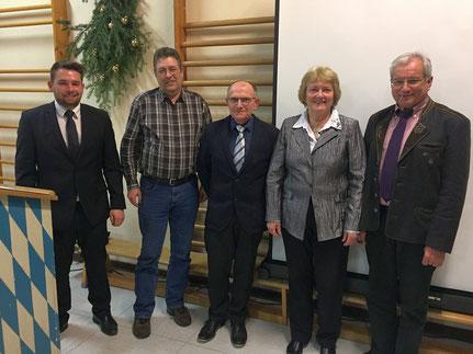 Andreas Gründl, Norbert Staudinger, Martin Aigner,  Maria Neudecker, Martin Schuster