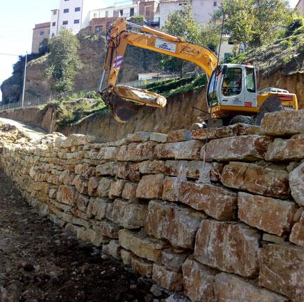 Piedra escollera - escollera para muros