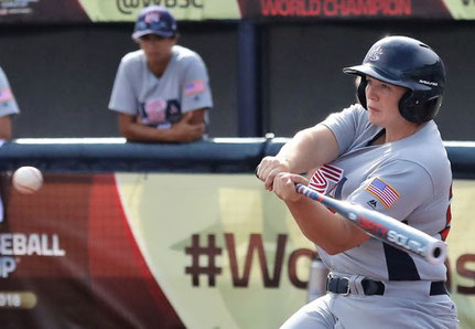 Una fase del Mondiale di Baseball femminile disputato a Viera. Florida USA