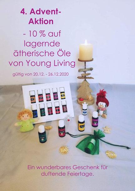 Aktion zum 4. Advent:  -10% auf lagernde ätherische Öle von Young Living  (gültig von 20.12. - 26.12.2020)